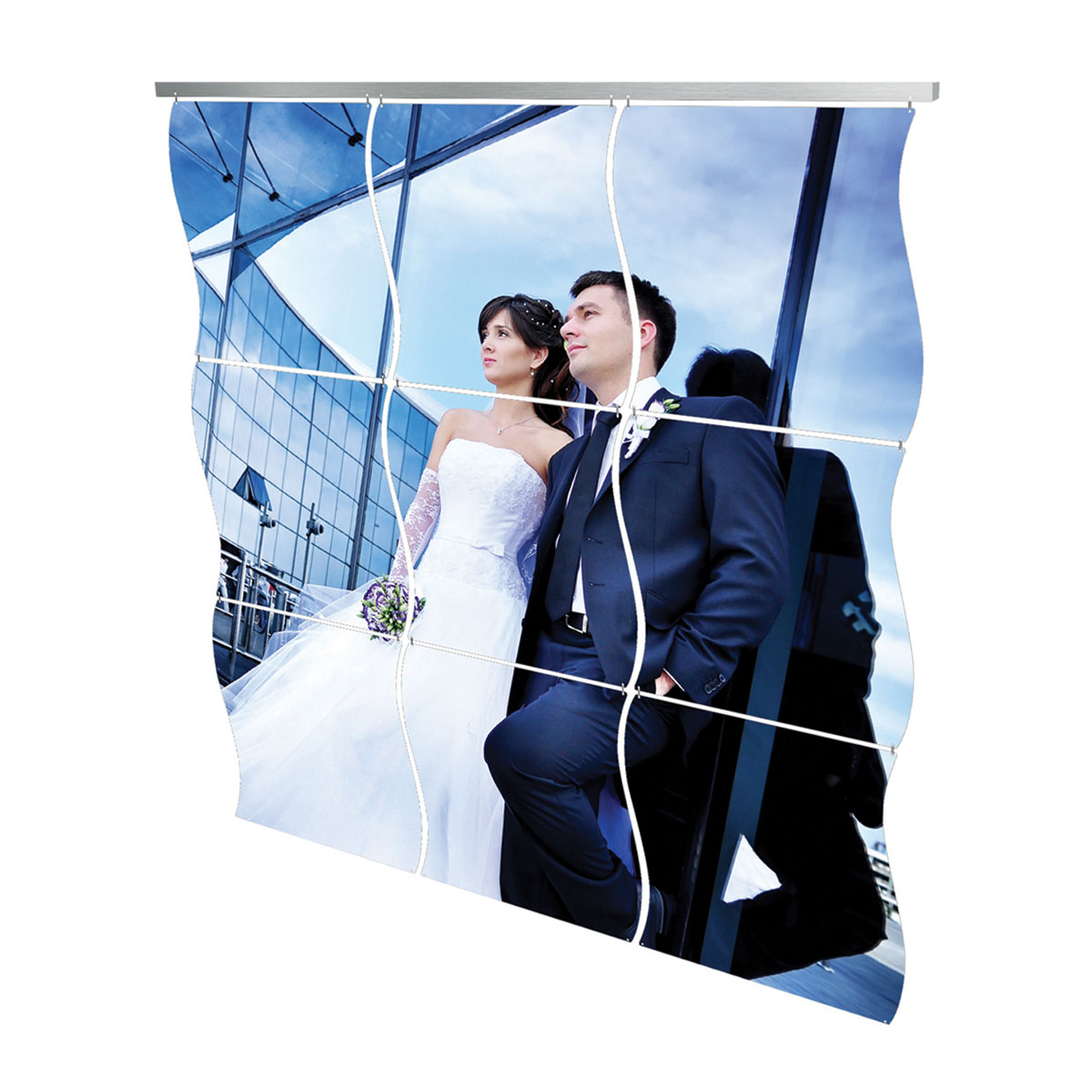 Hanging Aluminium Panel Wall Art